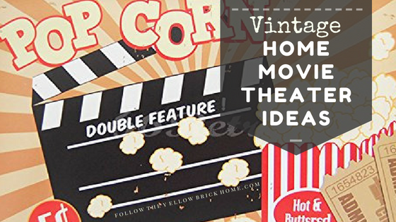 Follow The Yellow Brick Home Vintage Home Theater Ideas Follow