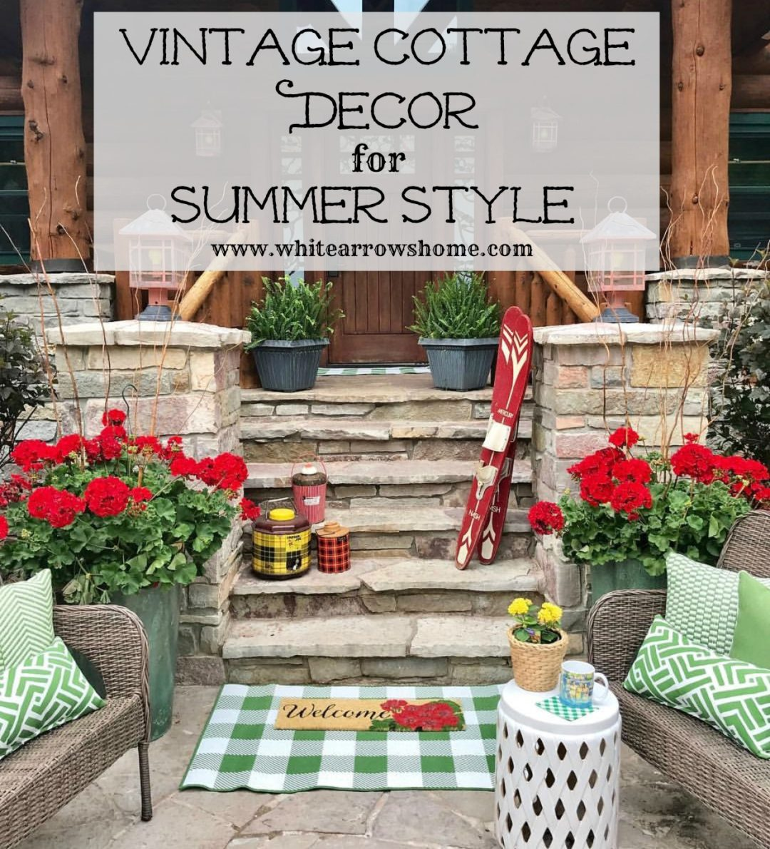 Summer Home Decor: Follow The Yellow Brick Home