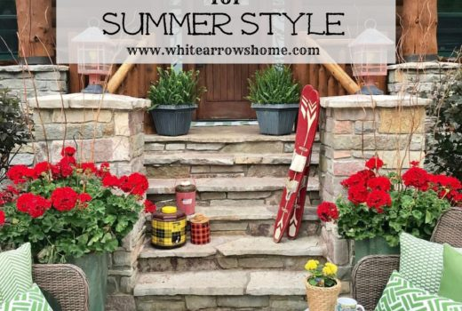 Vintage Cottage Decor Summer Style