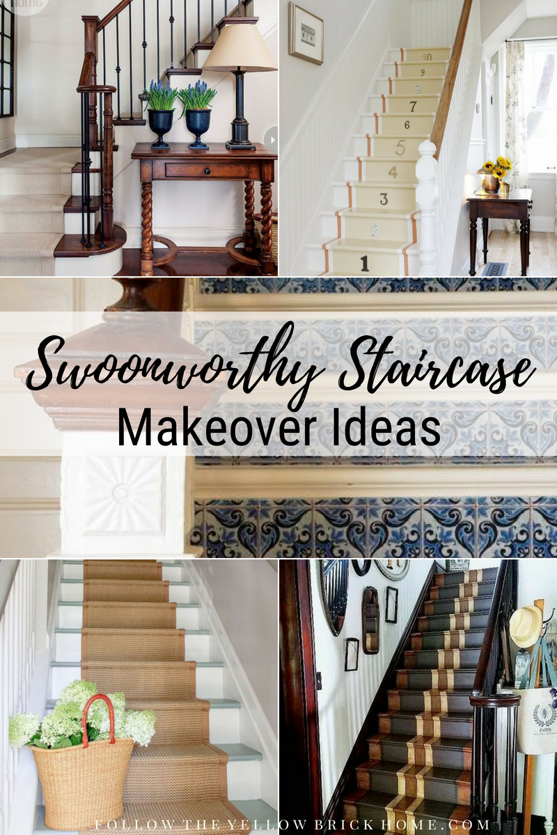 Swoonworthy Staircase Makeover Ideas Painted Staircases Painted Stairs  Painted Stair Runner Grain Stripe Stair Runner Wallpaper