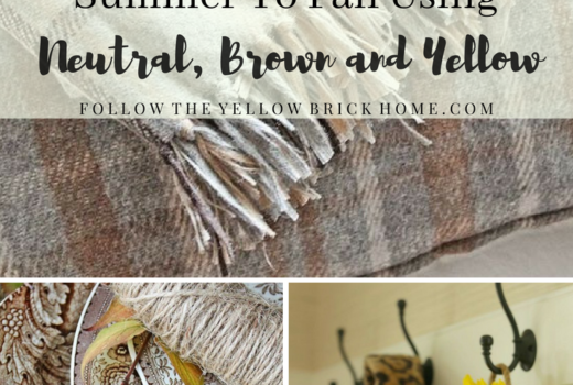 transitioning to fall in decor fall decor early fall decorating ideas using color brown yellow decor