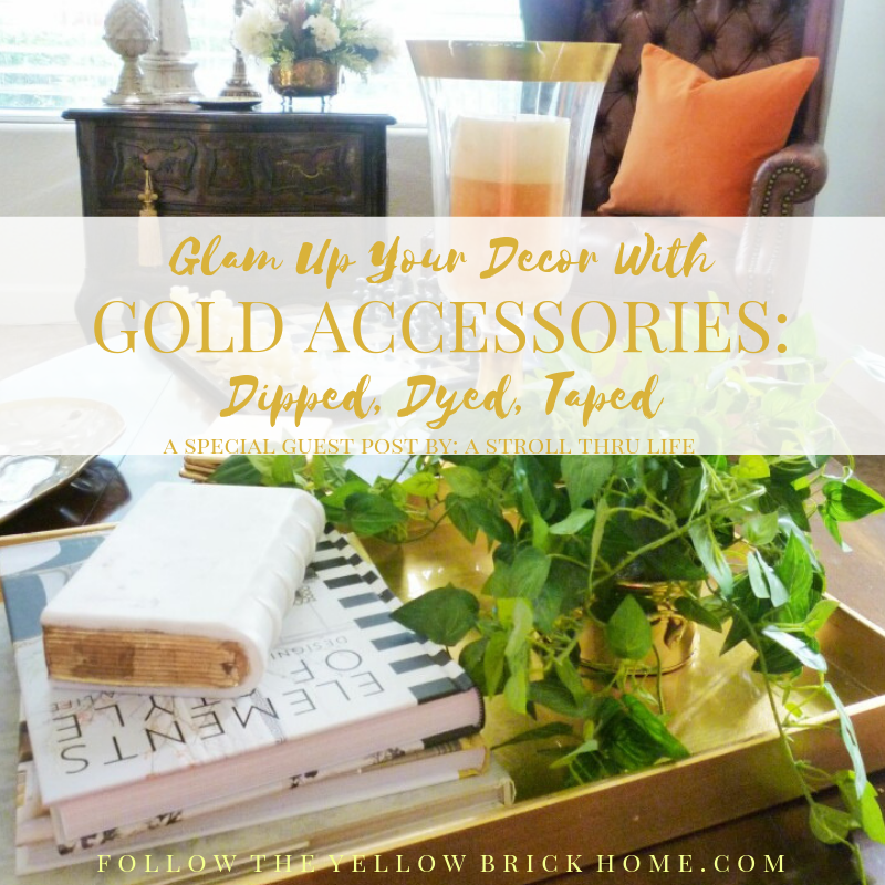 Glam Up Your Decor With Gold Accessories