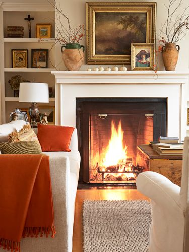 Creating a cozy fall home