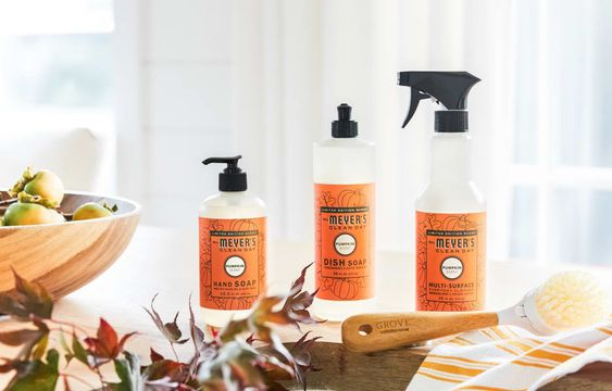 Fall Cleaning Grove Collaborative Mrs. Meyers Fall Scents