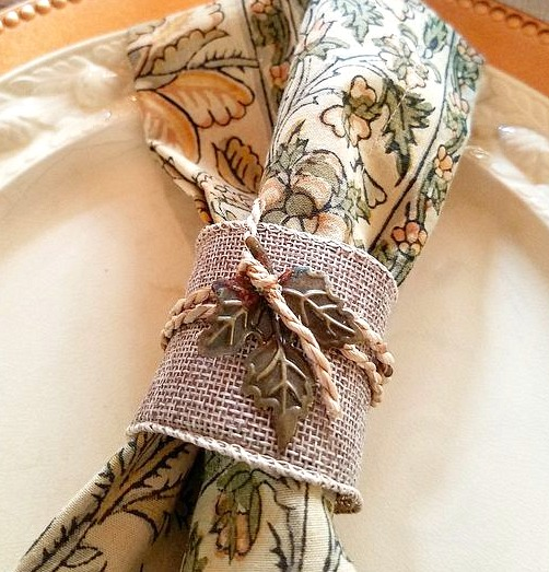 DIY Paper Toll Roll Napkin Rings Elegant Inexpensive Napkin Rings Burlap Twine Fall Napkin Rings