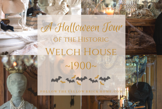 A must-see tour of the 1900 Welch House Halloween Home Tour