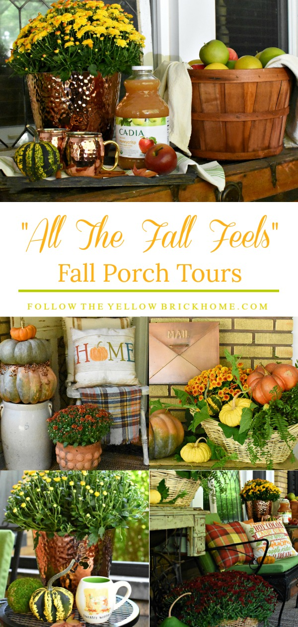 Fall Porch Tours How To Add All The fall Feels to your porch