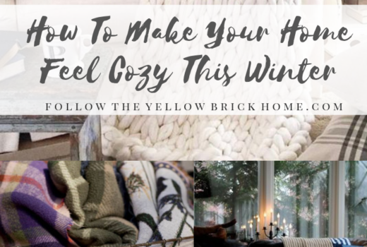 Great tips for making your home feel cozy, warm and welcoming during the winter months