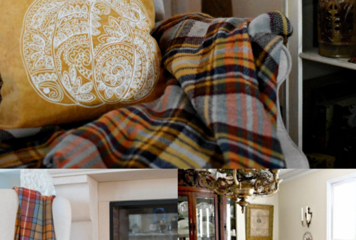 Fall Plaids Plaid Fall Decor