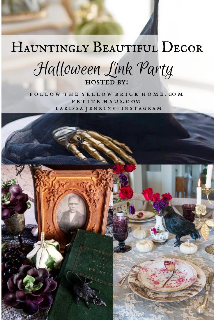 Elegant Halloween Decorating Idea Halloween Decorating and Craft Ideas