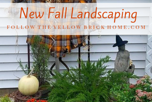 New Fall Landscaping With Plants and shrubs from Lowe's