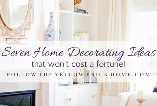 How to save money on home decorating