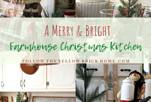 Beautiful Farmhouse Christmas Kitchen Tour