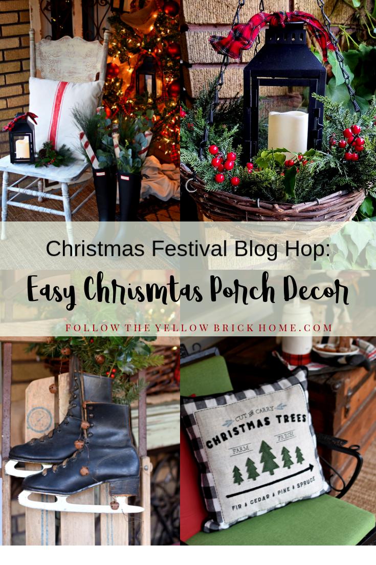 Easy Christmas Porch Decor Ideas