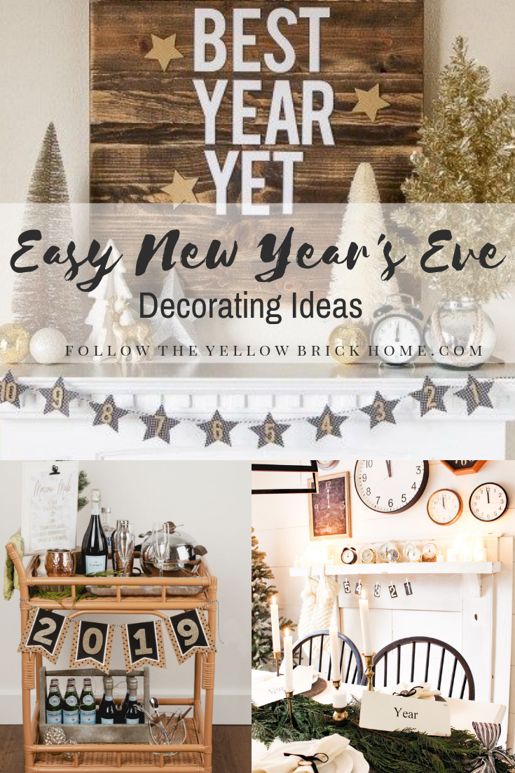 Easy New Year's Eve Decorating Ideas