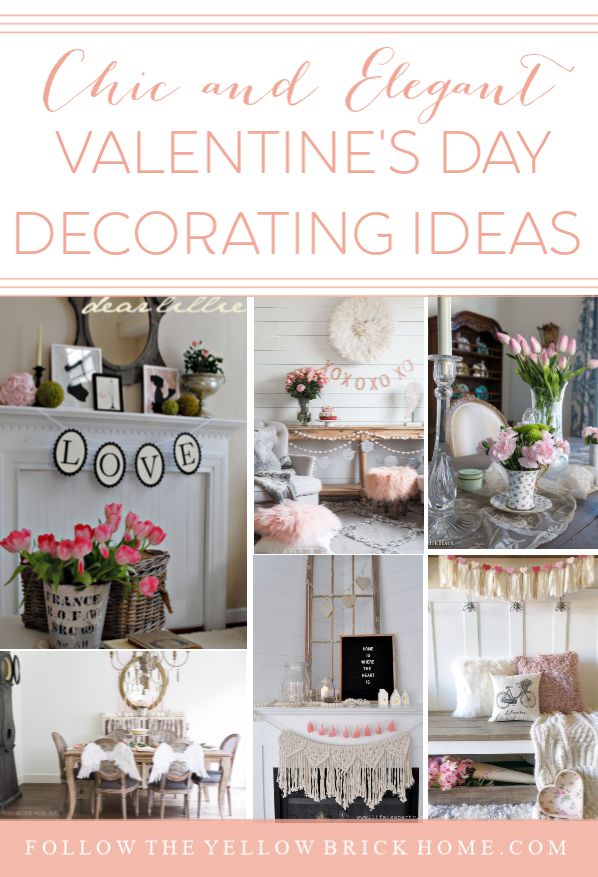 Follow The Yellow Brick Home - Chic and Elegant Valentine\'s ...