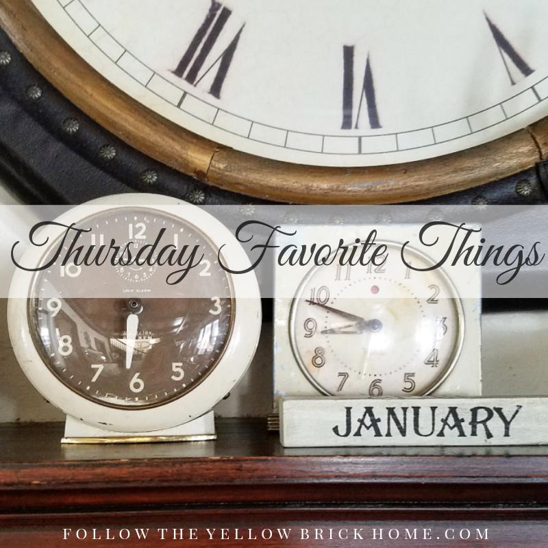 Lovely Winter Decor at Thursday Favorite Things