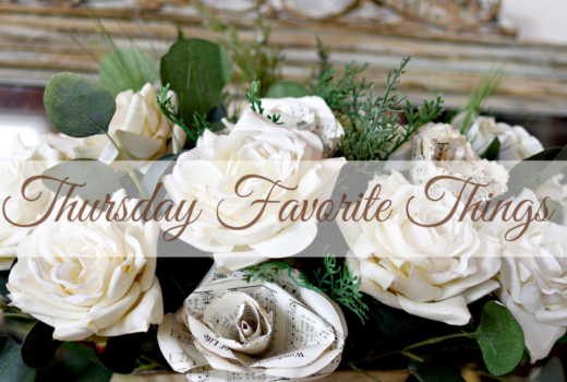 Beautiful Valentine's Day features at the Thursday Favorite Things Blogger Link Party Valentine's Day Decor and Crafts