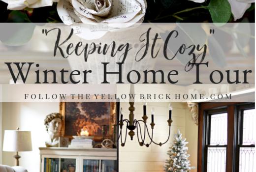 Cozy winter cottage decor ideas