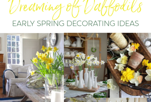 Early Spring Decorating Ideas With Daffodils