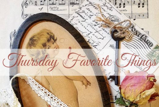Vintage Valentine's Day blogger link party