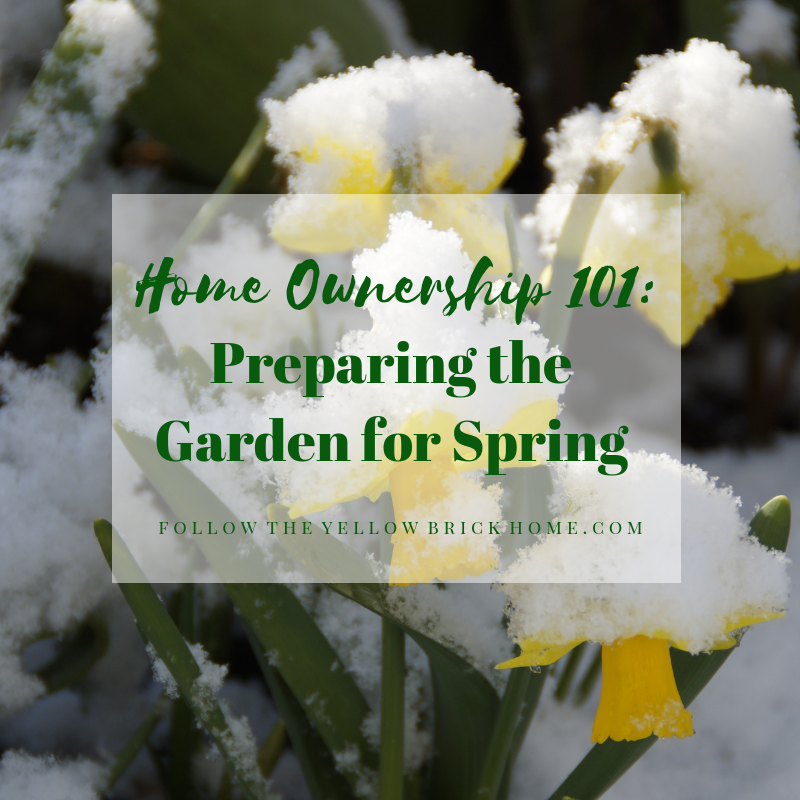 Preparing The Garden For Spring
