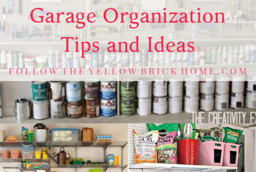 Great Ideas for clearing garage clutter and garage organization