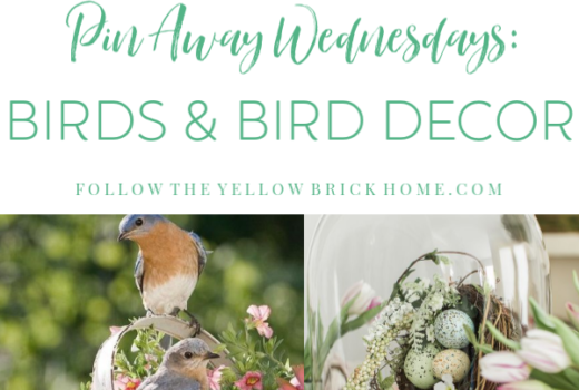 Decorating with birds, bird houses, bird cages, and bird decor