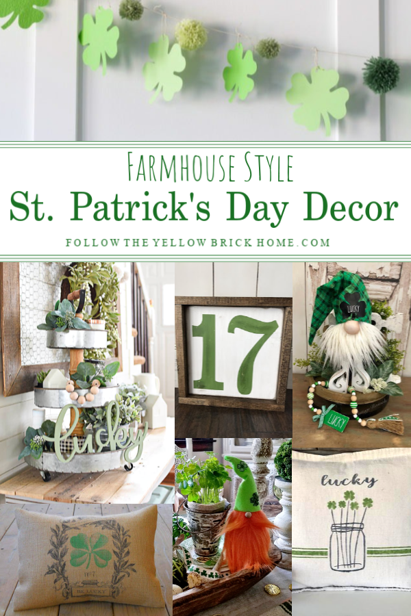 Farmhouse Style St. Patrick's Day Decorating Ideas