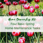 Four Basic Spring Home Maintenance tasks