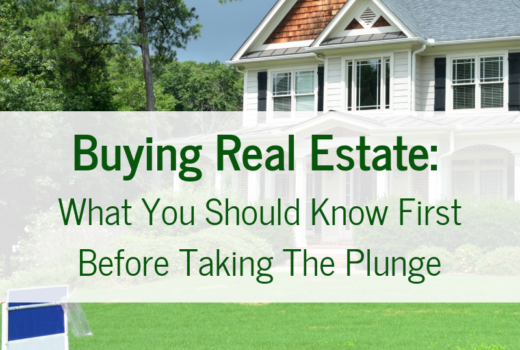 Tips for purchasing a home or investment property. What you should know before buying real estate