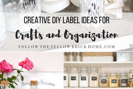 Creative DIY Label Ideas for Crafts and organization Labels vinyl labels