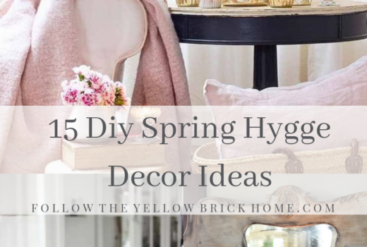 15 Diy Spring Decor Ideas