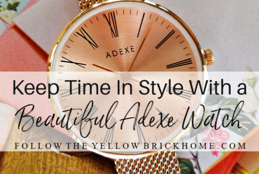 Adexe London Watch Review Beautiful Sistine Petite Rosegold watch review