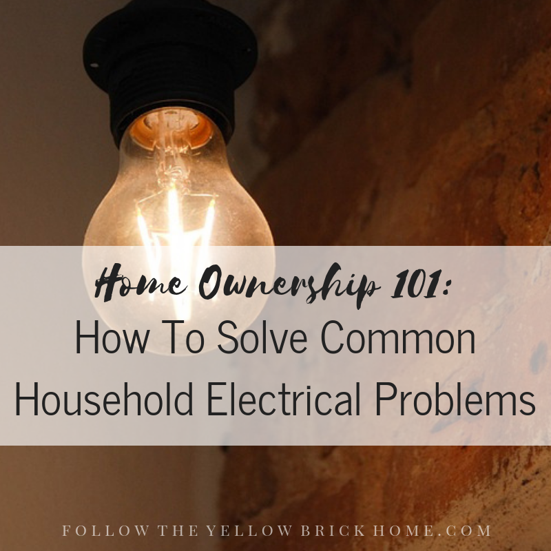 How To Solve Common Electrical Household Problems Six Common Household Electrical Problems