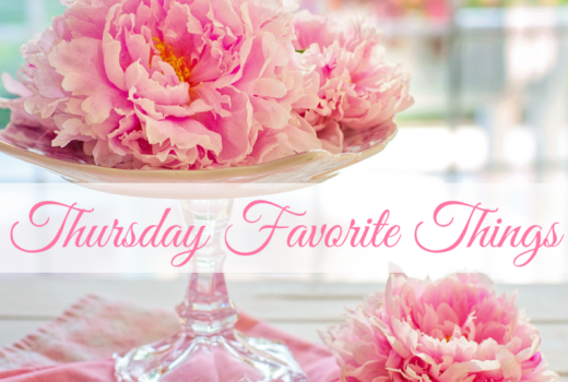 French Style and Fleurs at Thursday Favorite Things