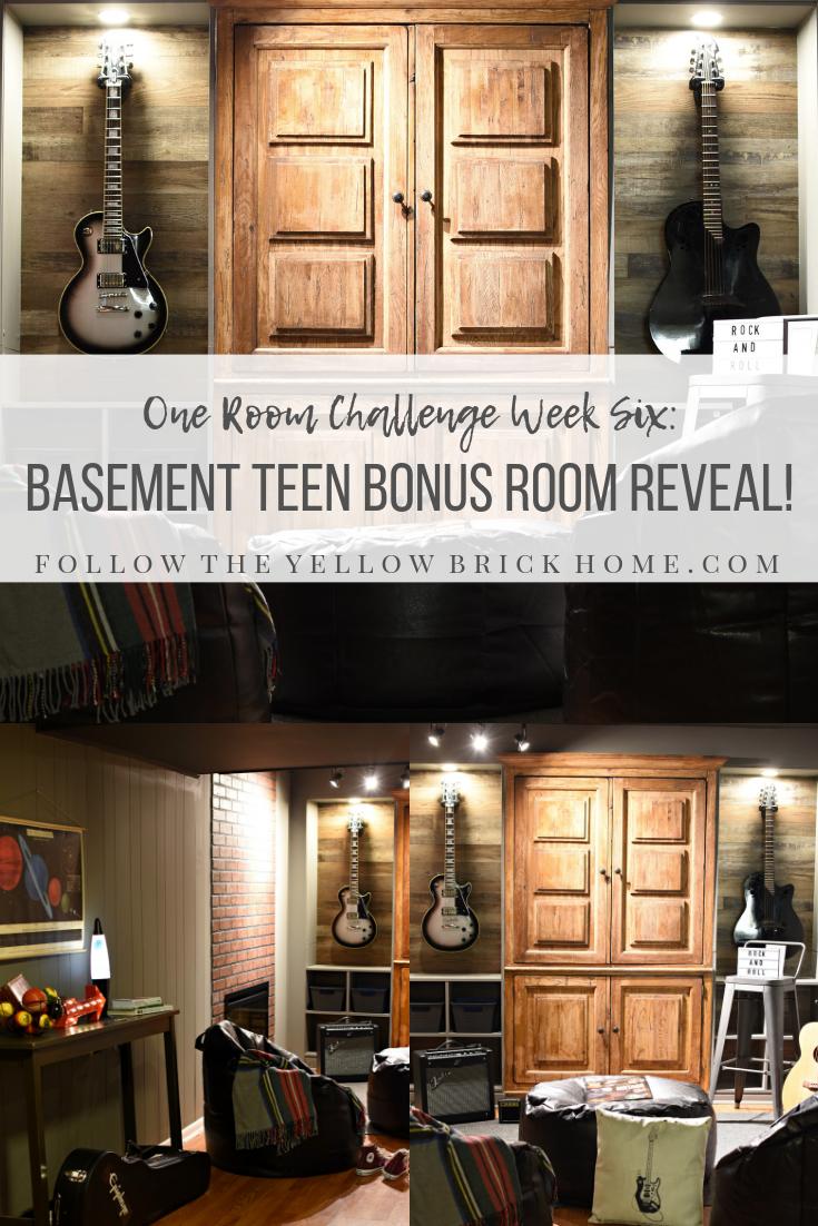 Follow The Yellow Brick Home Orc Week Six Basement Junk Room To Teen Bonus Room Reveal Follow The Yellow Brick Home