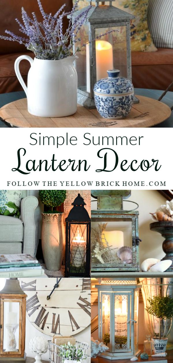 Simple Summer Lantern Decorating Ideas