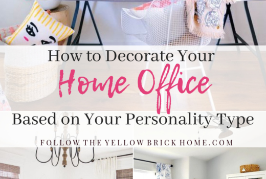 Decorate Your Home Office based on your personality type Meyers Brigg Personality Types