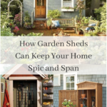 Garden Shed ideas organize your garden tools