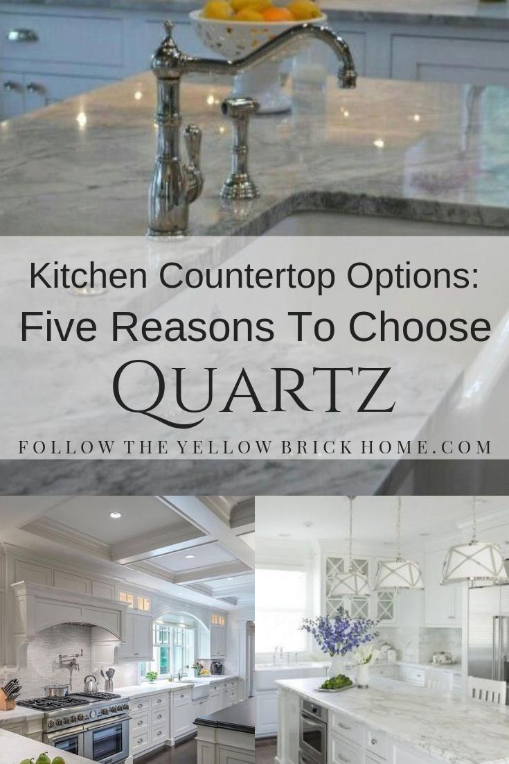 kitchen countertop ideas quartz