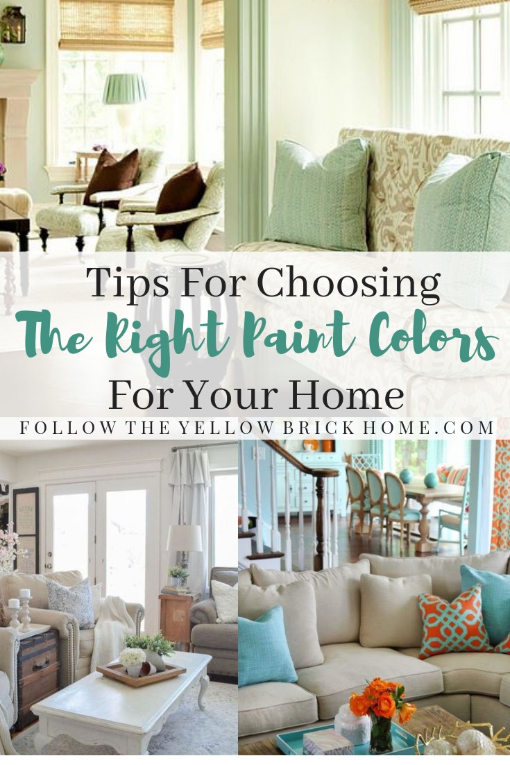 How To Choose The Right Paint Colors For Your Home Design style Tips Decorating Tips