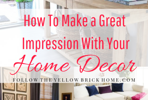Home Decor Tips and Tricks Make a great first impression with these easy decor tricks
