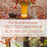 Beautiful fall inspiration fall foliage, fall flowers, autumn colors, autumn foliage, pumpkins, mums and fall decor