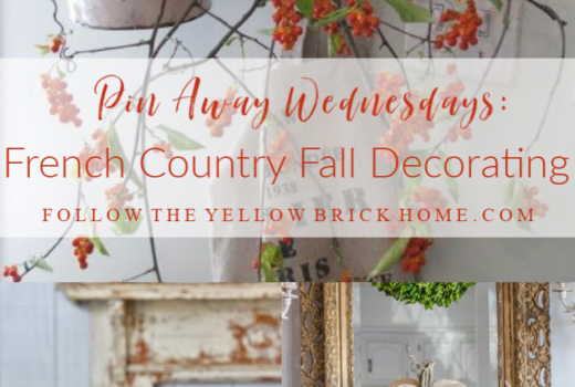 French Country Fall Decorating Ideas French fall decor french farmhouse fall decorating French pumpkins