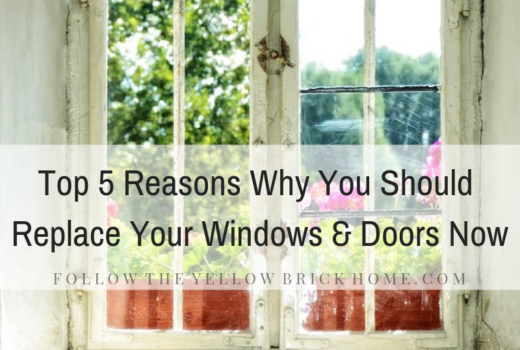 Top Five Reasons Why You Should Replace your windows and doors