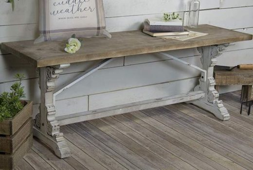 corbel inspired wooden farmhouse bench farmhouse bench with corbel legs distressed corbel bench