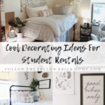 cool decorating ideas for student rentals trendy door decor boho dorm decorating ideas first apartment decor
