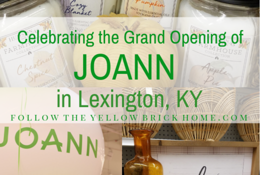 Explore the grand opening of Joann Fabric and Crafts in Lexington, KY amazing new Joann concept store with farmhouse fall crafts and decor Joann fabric and crafts