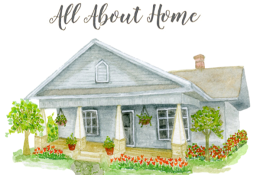 All About Home Blogger Link Party Home Decor Party